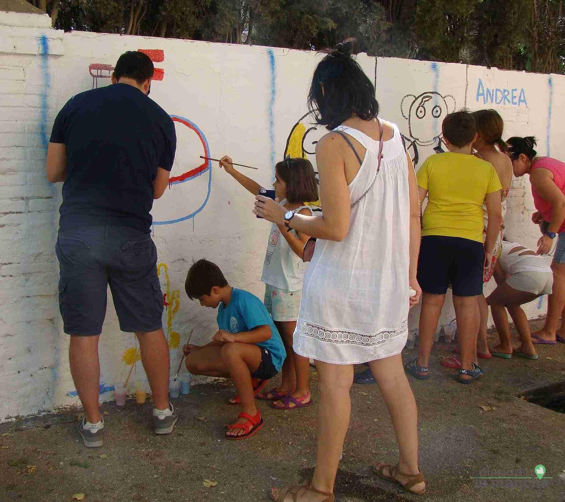 Fotografías de la segunda Pintada Infantil en Quintanar de la Orden 16