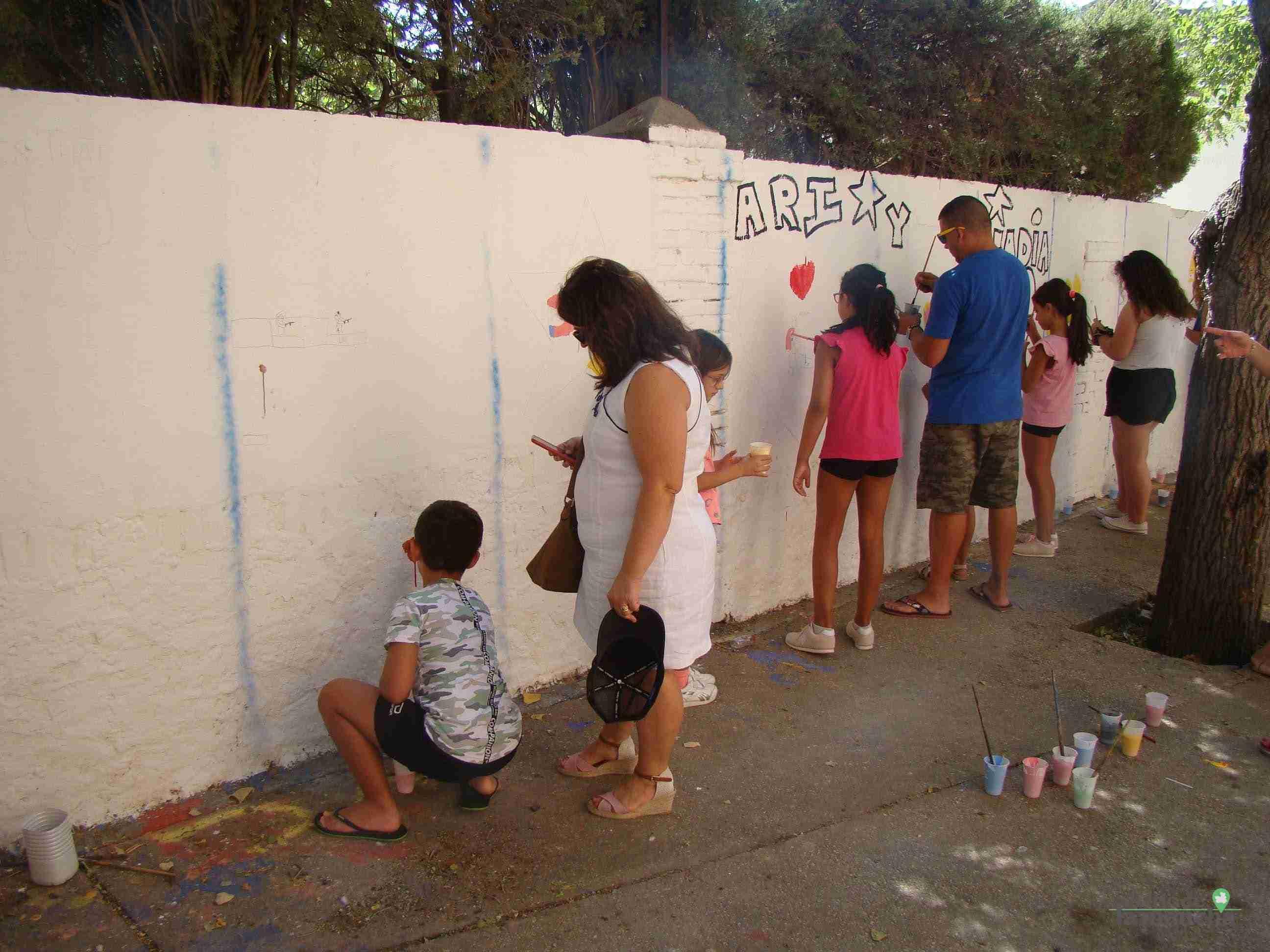 Fotografías de la segunda Pintada Infantil en Quintanar de la Orden 17