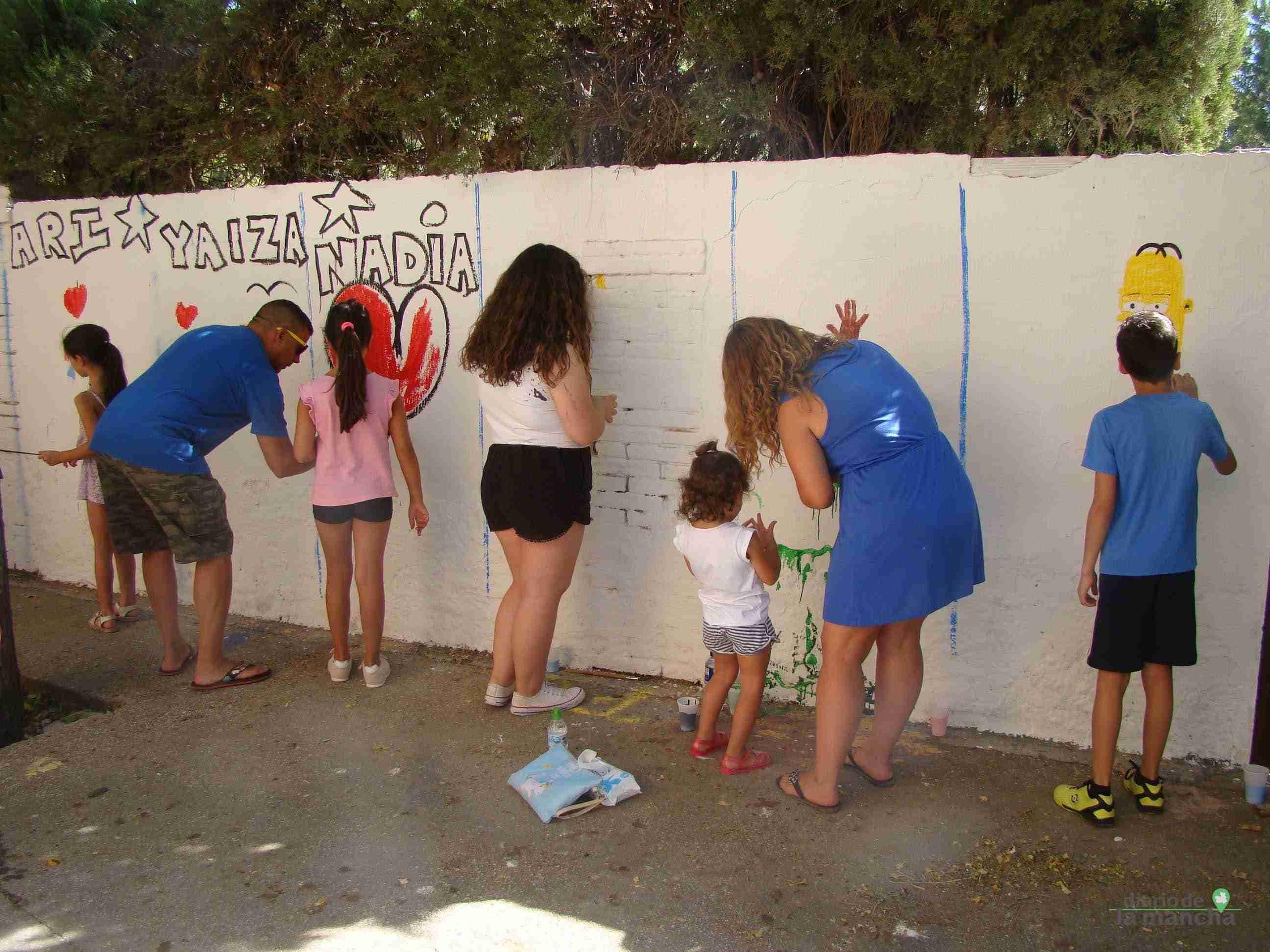 Fotografías de la segunda Pintada Infantil en Quintanar de la Orden 19
