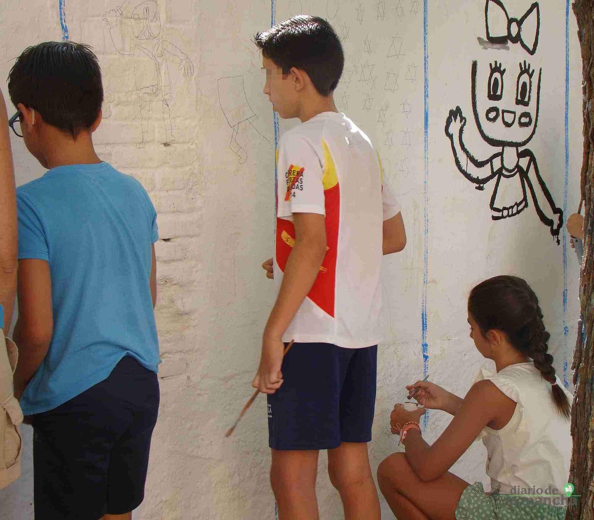 Fotografías de la segunda Pintada Infantil en Quintanar de la Orden 20