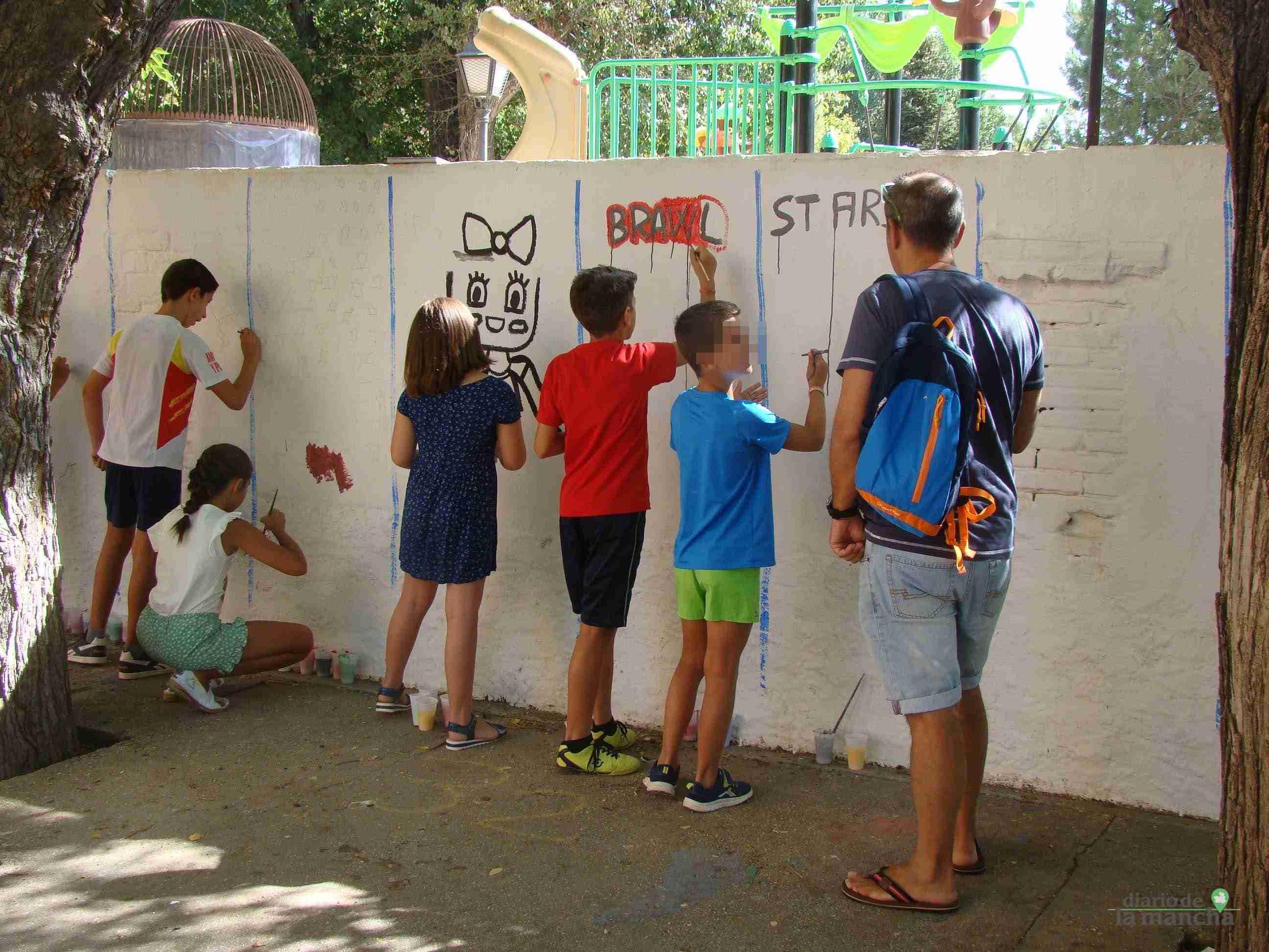 Fotografías de la segunda Pintada Infantil en Quintanar de la Orden 21