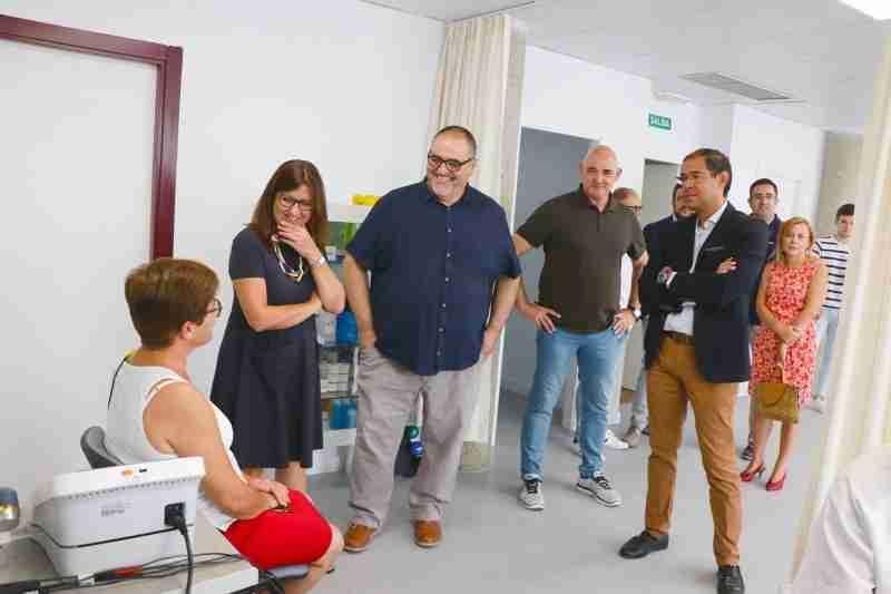 La nueva sala de fisioterapia del Centro de Salud de Villafranca de los Caballeros lleva realizadas 600 sesiones de rehabilitación desde su puesta en marcha 1