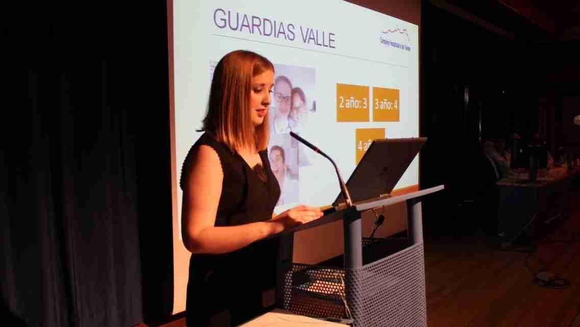 Médica del Complejo Hospitalario Universitario de Toledo, fue elegida mejor residente de Geriatría de España 1