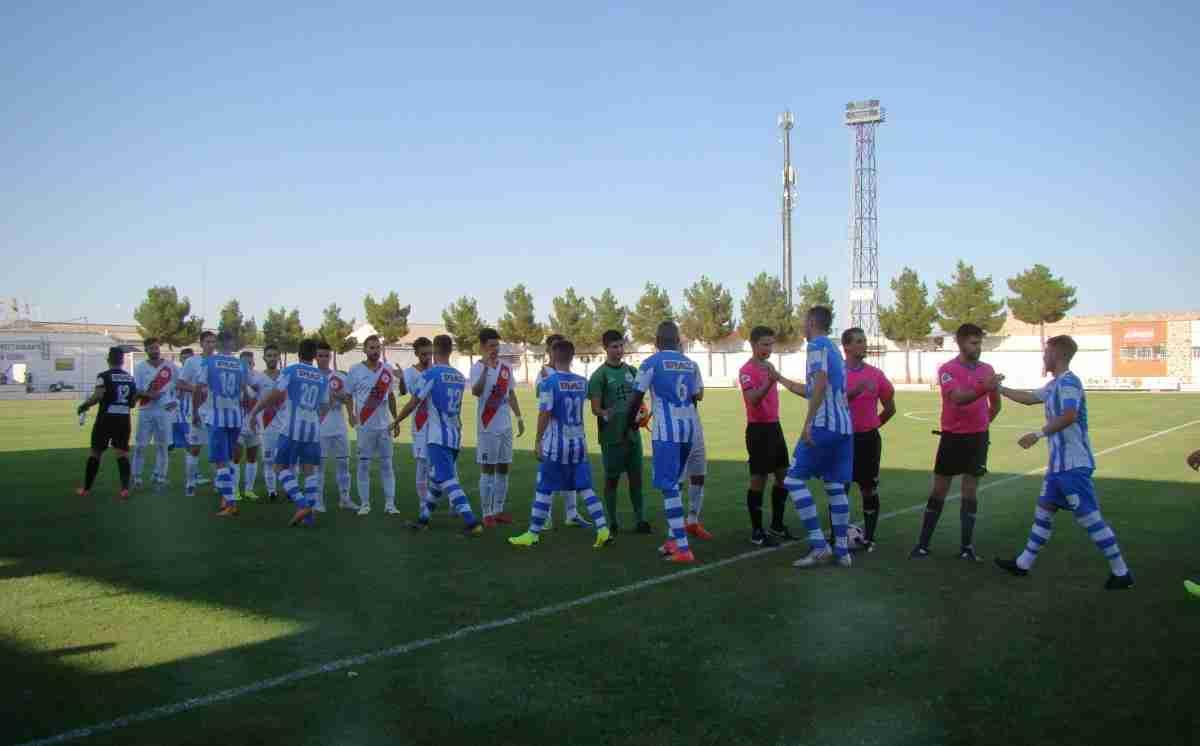 "Disputado el IX Trofeo de Fútbol ""Baldomero Mota"" en Quintanar del Orden entre el CD Quintanar y CD Tarancón 2"