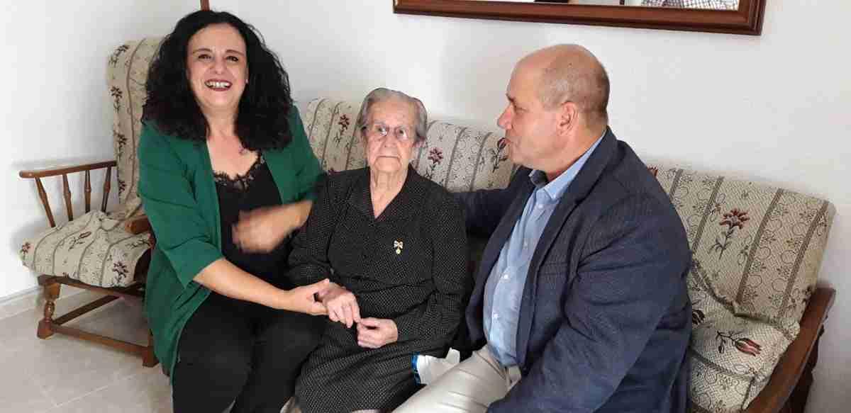 Villarrubia de los Ojos le rinde homenaje a una de las vecinas más longevas, con 101 años de edad 2