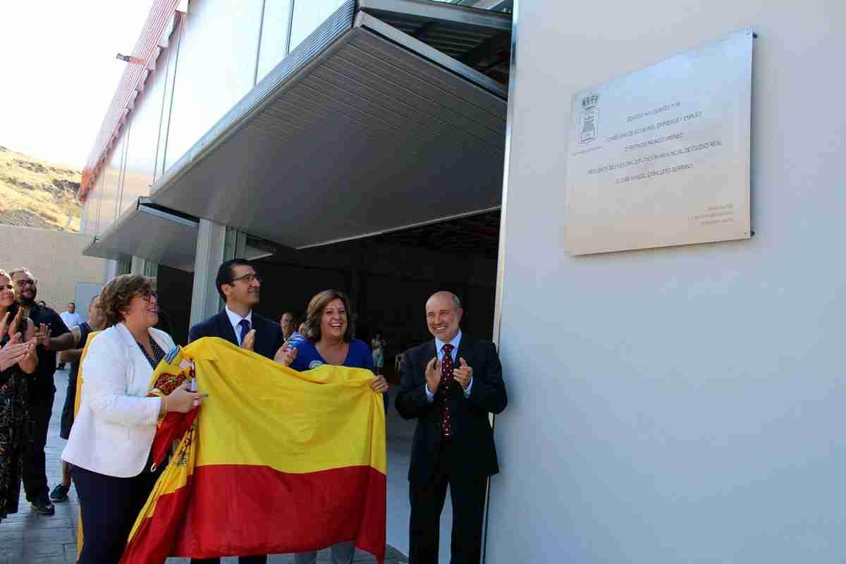 El nuevo pabellón multifuncional de Piedrabuena habilita un nuevo espacio deportivo y participativo para los vecinos 2