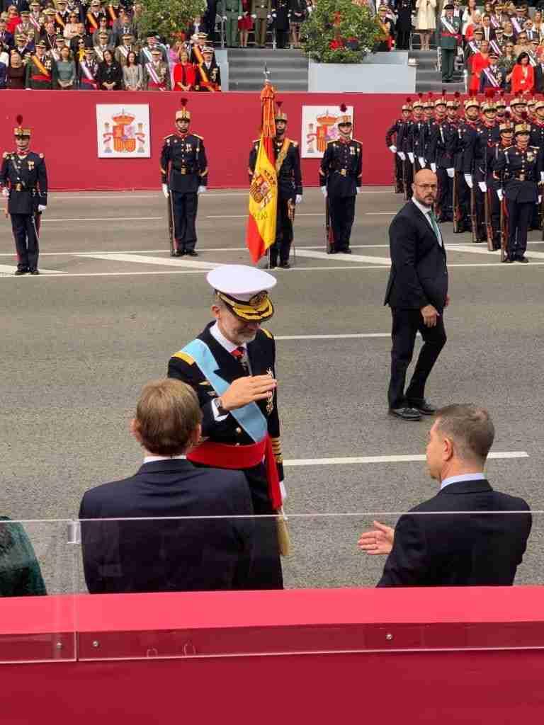 Castilla-La Mancha presente en el Día de la Hispanidad en Madrid con Garcia-Page 1