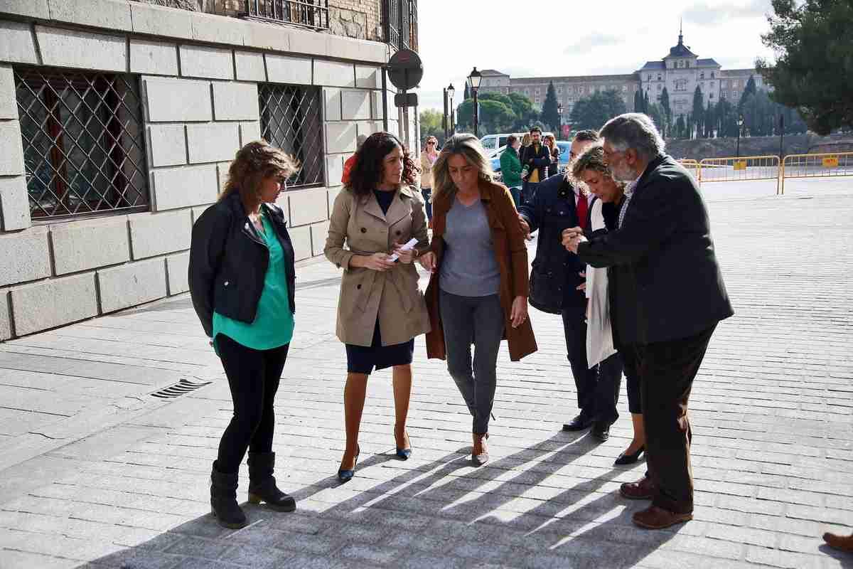Milagros Tolón remarcó el esfuerzo del Ayuntamiento para mejorar el entorno del Alcázar 1