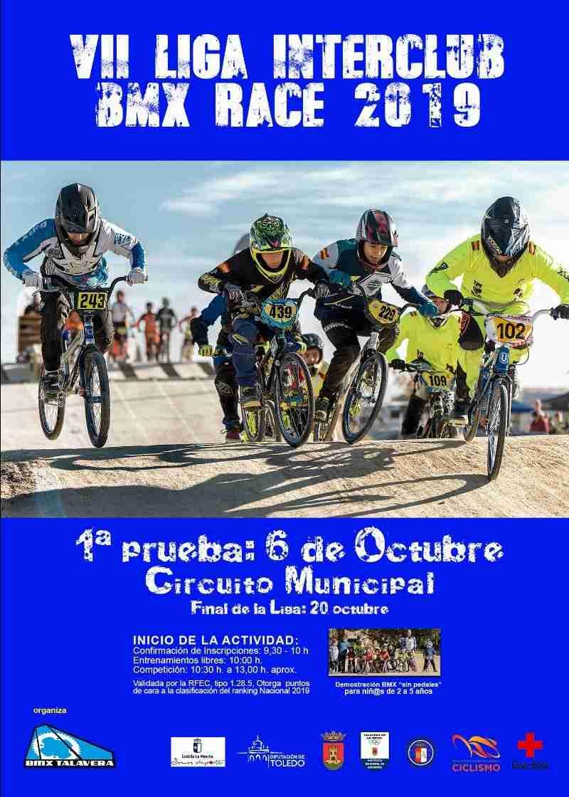 El Circuito Municipal de Talavera de la Reina acogerá la VII Liga Interclubs BMX Race 2019 1