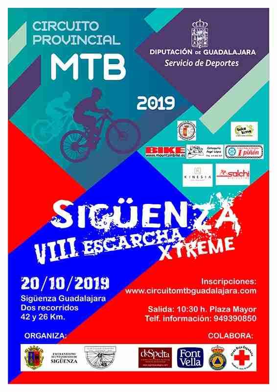 La competencia de ciclismo VIII Escarcha Xtreme llega el domingo a Sigüenza 1