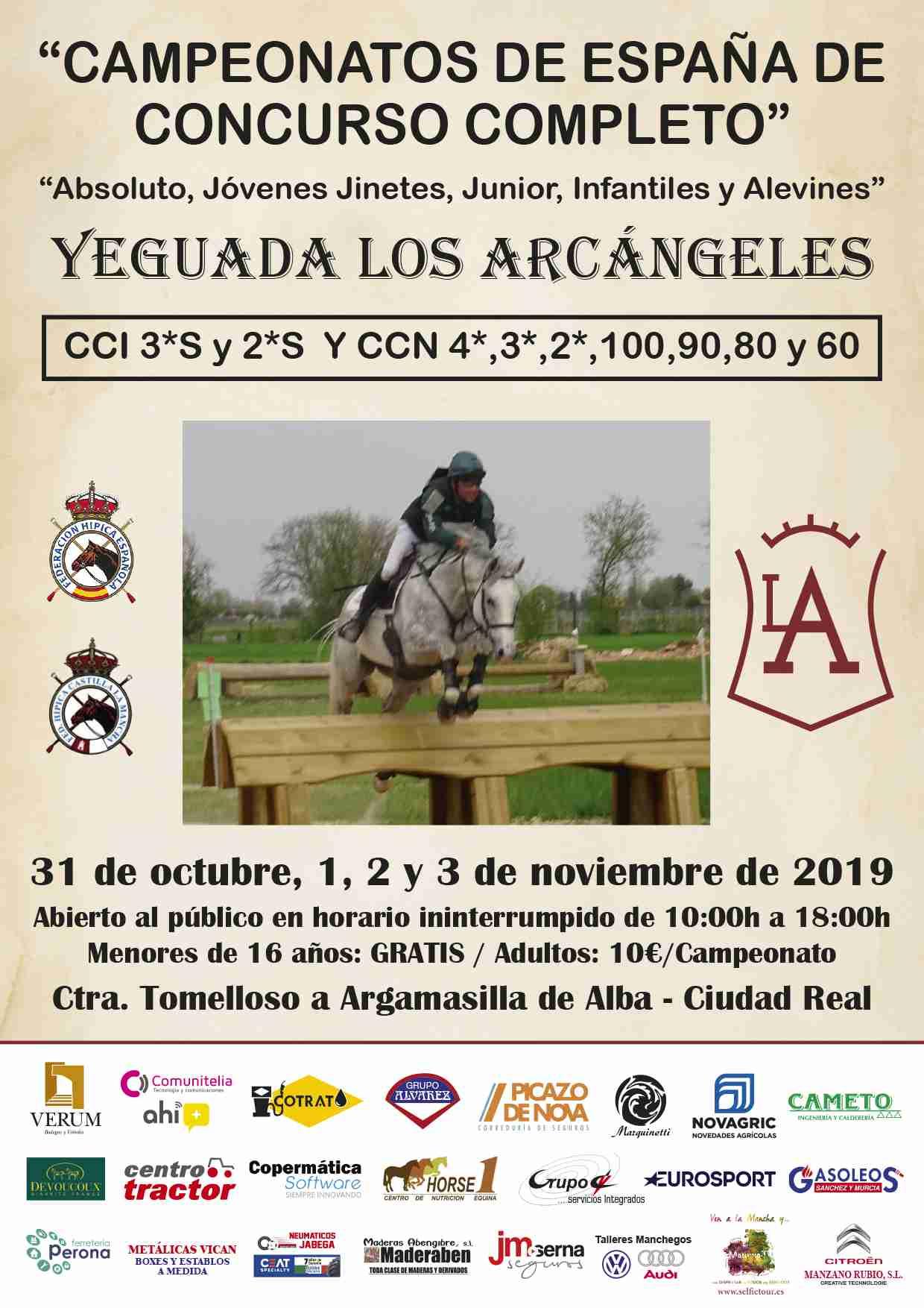El Campeón de España en Concurso Completo de Equitación será elegido este fin de semana en Tomelloso 4