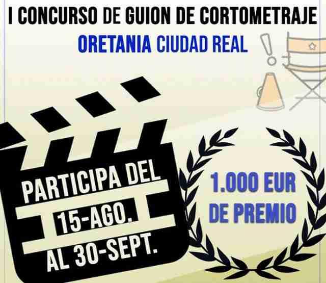 Balance del concurso de cortos de ORETANIA Ciudad Real, 120 guiones y 106 guionistas de 5 países 1