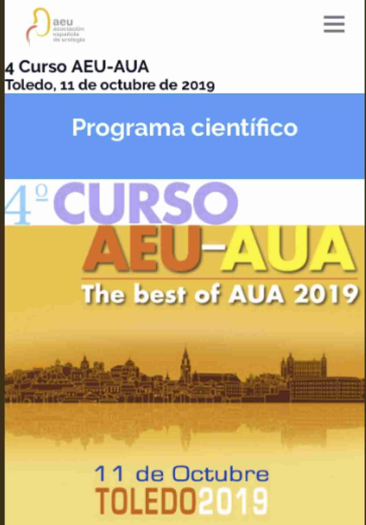 asociacion espanola y asociacion americana urologia