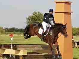 manuel senra en campeonato completo de equitacion en espana