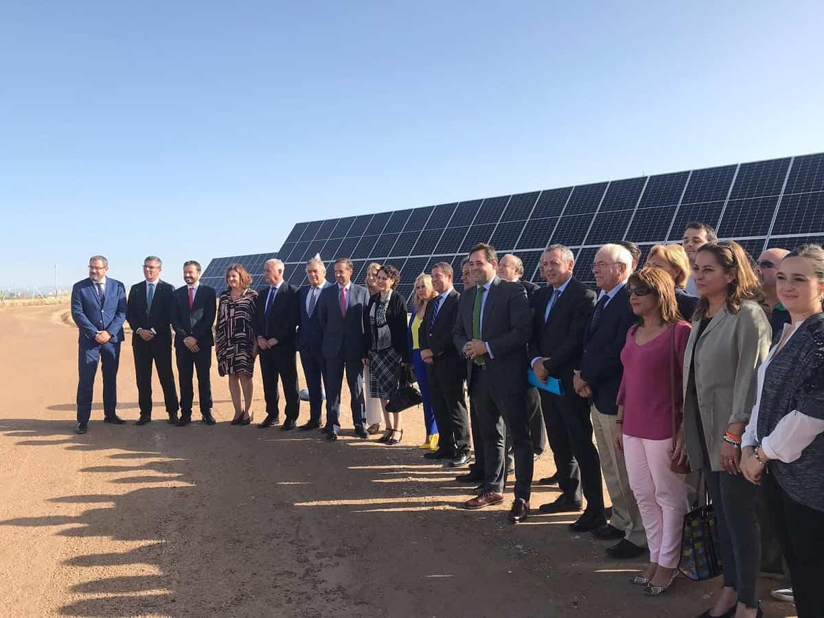 ALTEN Energías Renovables  y Grupo Ortiz inauguran una nueva planta solar fotovoltaica en El Casar 10