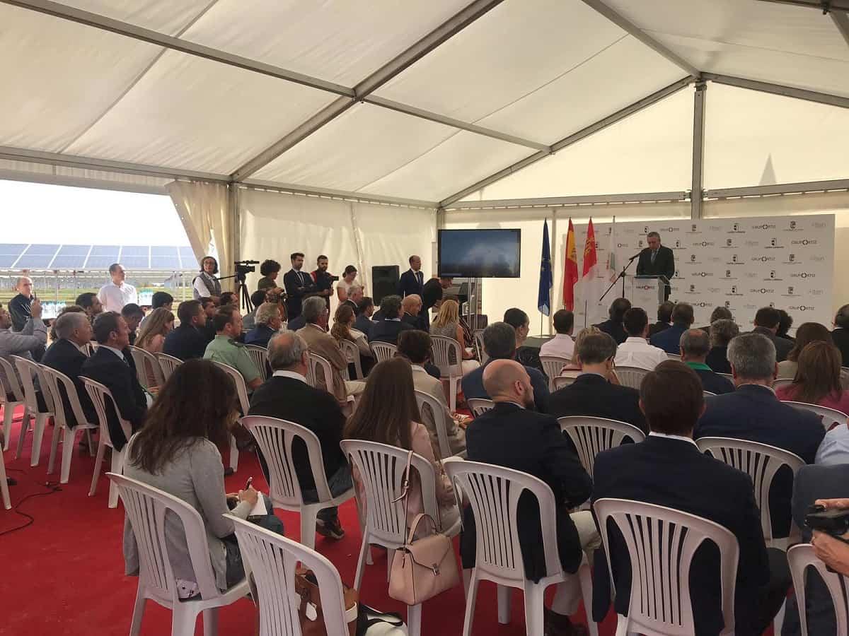 ALTEN Energías Renovables  y Grupo Ortiz inauguran una nueva planta solar fotovoltaica en El Casar 11