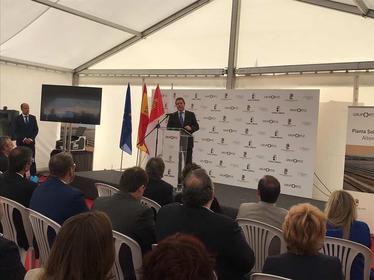 ALTEN Energías Renovables  y Grupo Ortiz inauguran una nueva planta solar fotovoltaica en El Casar 12