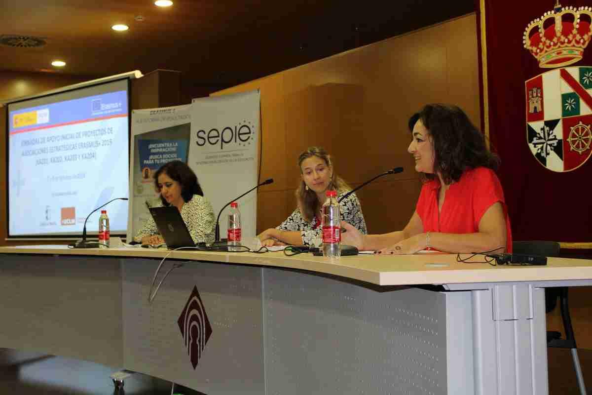 El Gobierno regional destacó los programas Erasmus+KA2 como oportunidad para internacionalizar las instituciones y el intercambio de buenas prácticas formativas 1