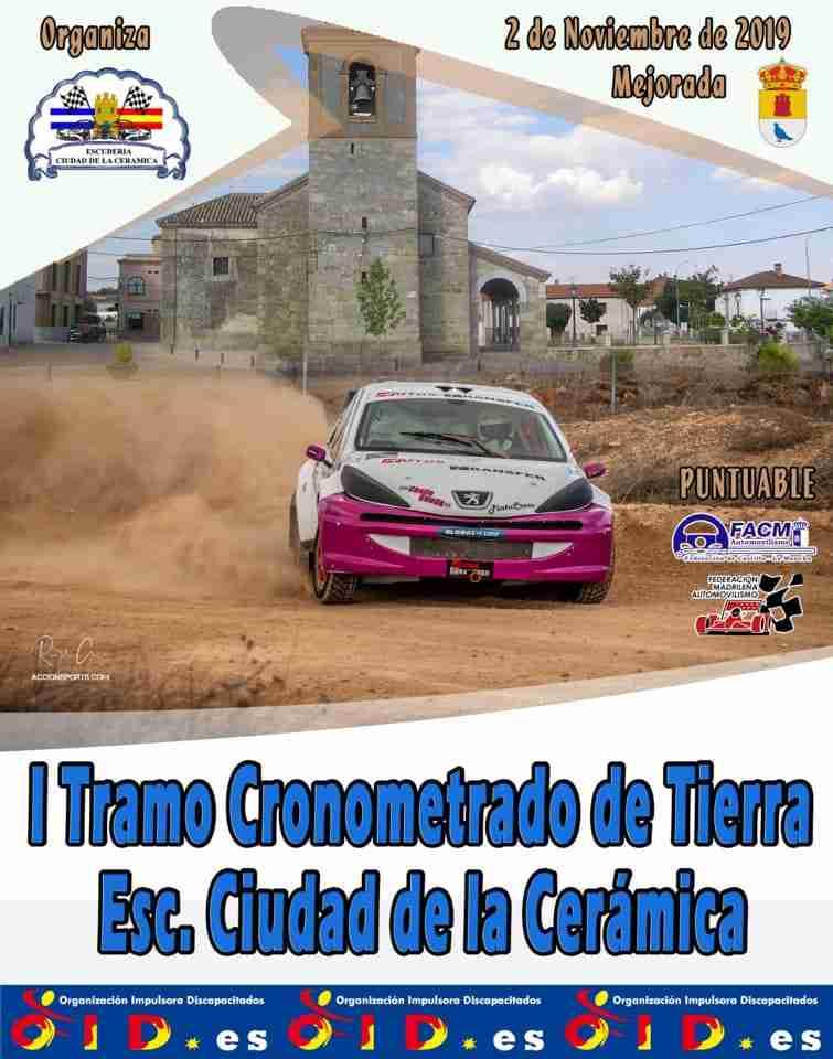Competición de rallyes, el regional de tierra de Castilla-La Mancha cierra en Mejorada 1