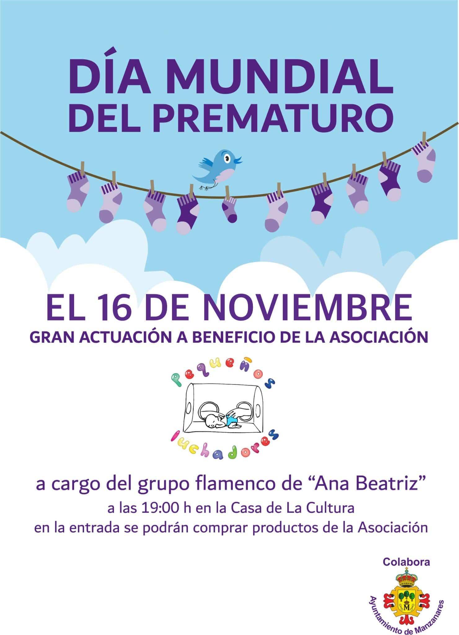 La Asociación de Familias de Prematuros `Pequeños Luchadores´ preparada para celebrar el Día Mundial del Prematuro 1