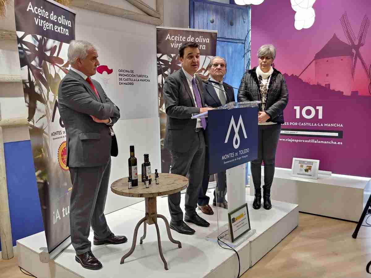 DOP Montes de Toledo presentó a medios madrileños su AOVE de nueva cosecha con calidad excepcional 3