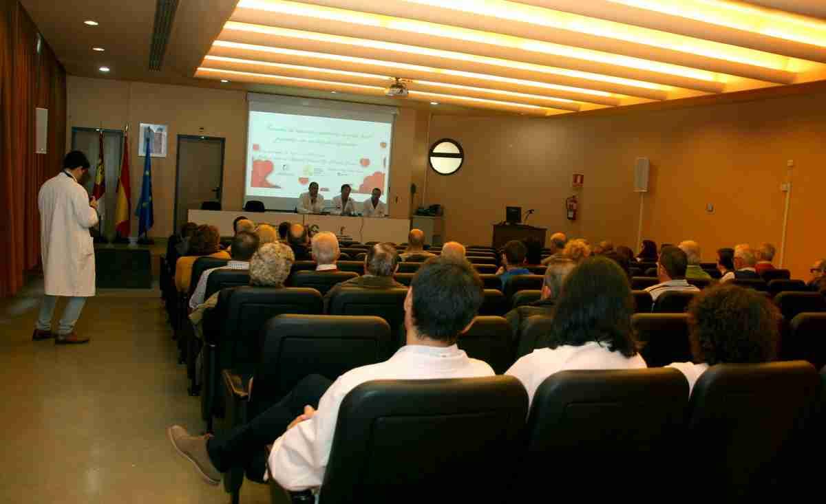 El Hospital Mancha Centro realizó jornadas para concienciar sobre enfermedades cardiovasculares a la población 1