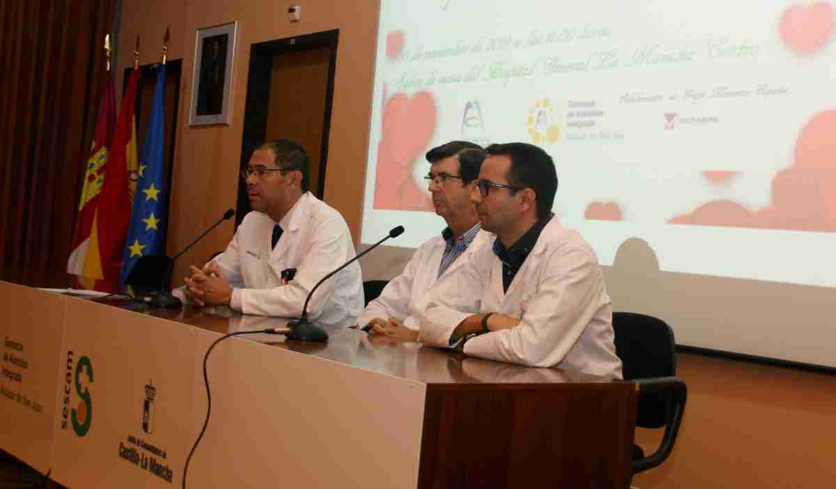 El Hospital Mancha Centro realizó jornadas para concienciar sobre enfermedades cardiovasculares a la población 2