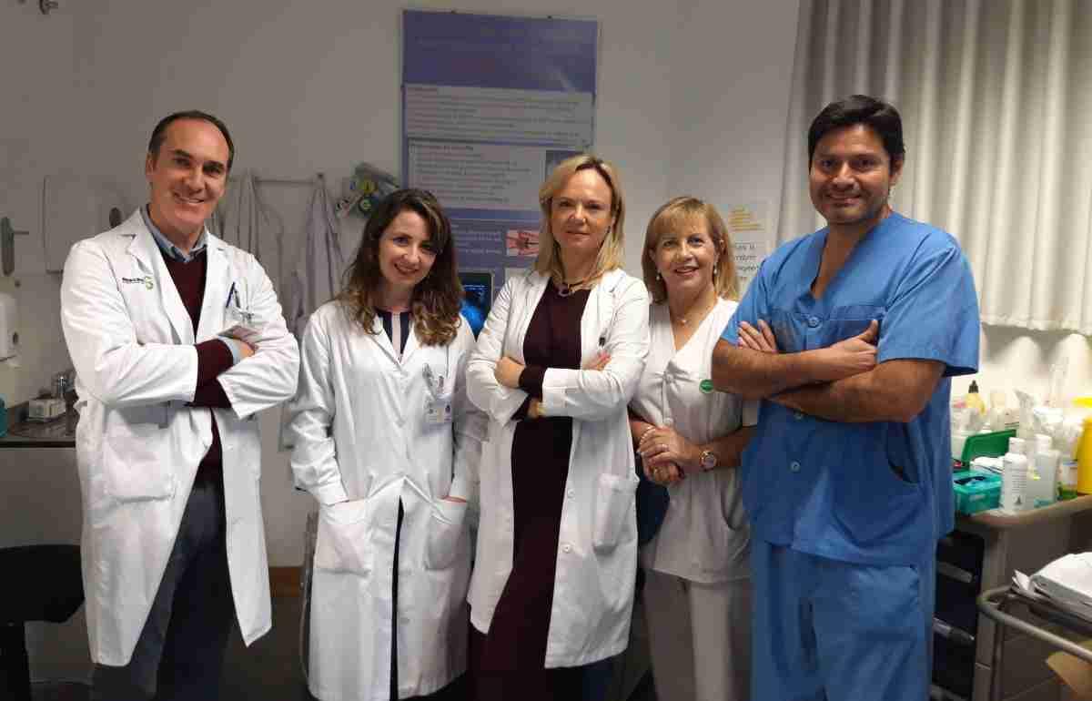 personal de la unidad de reproduccion asistida del hospital de ciudad real