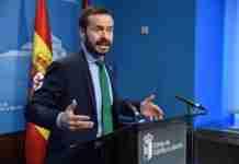 jose luis escudero informa sobre presupuesto de la consejeria de desarrollo sostenible