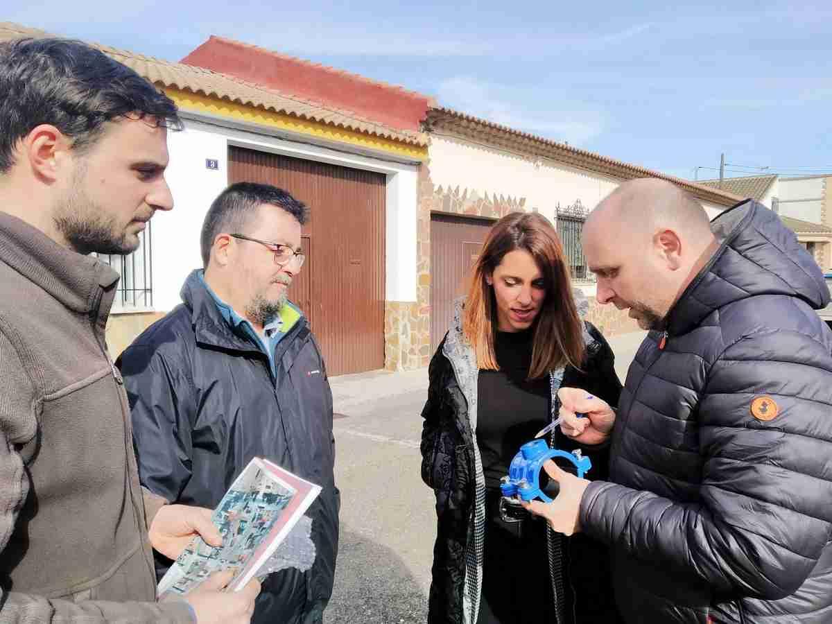 Arrancan las obras para la renovación de la red de abastecimiento de agua en las calles Coca, Fabiola y Almácera de Villarta de San Juan 2
