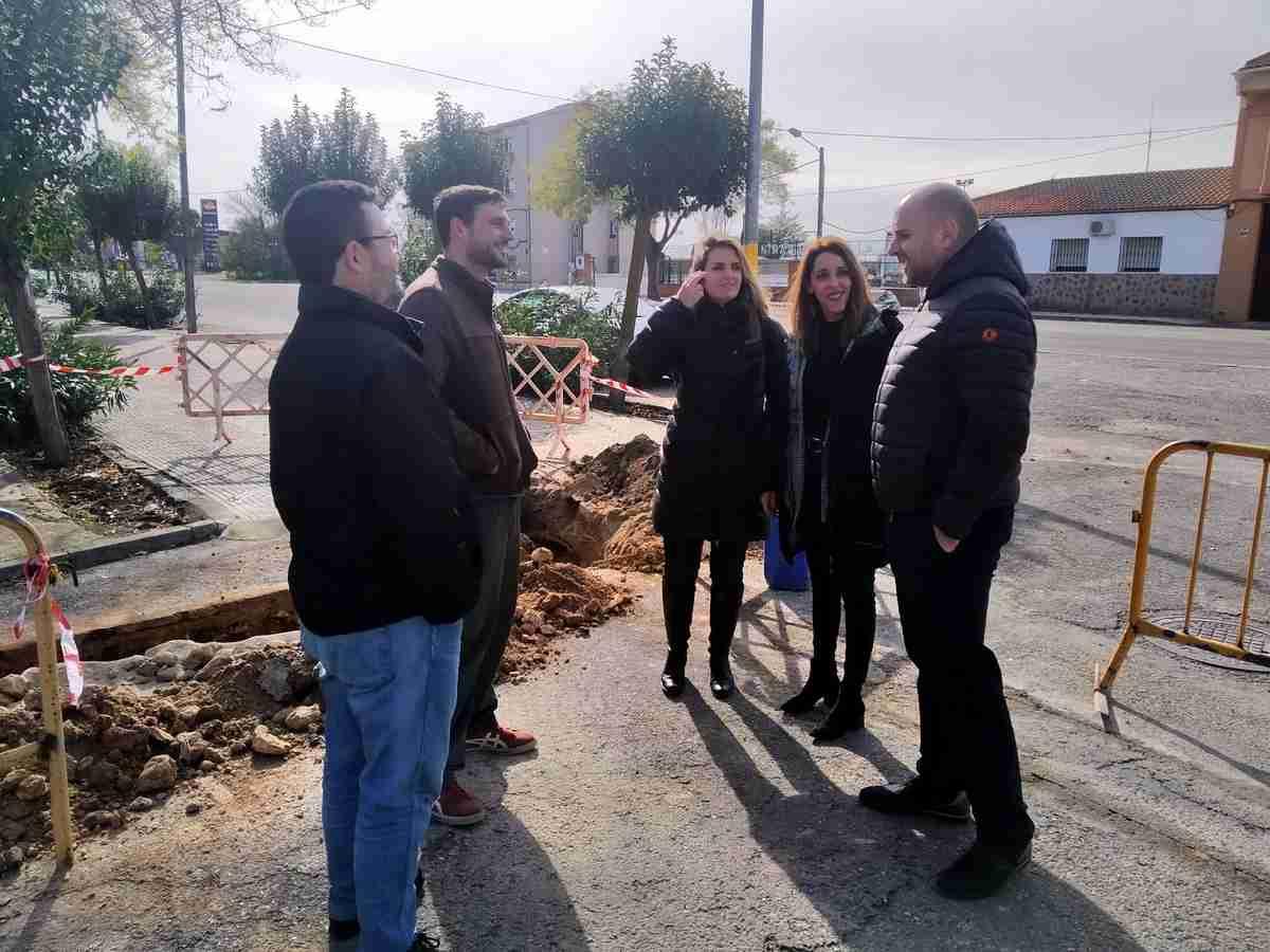 Arrancan las obras para la renovación de la red de abastecimiento de agua en las calles Coca, Fabiola y Almácera de Villarta de San Juan 1
