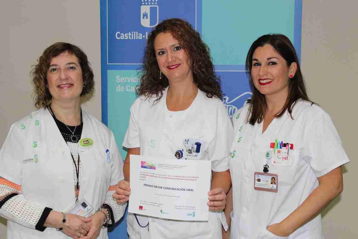 premiadas profesionales de albacete por trabajo sobre heridas complejas