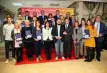 toledo distinguida en la entrega de los premios semana europea del deporte