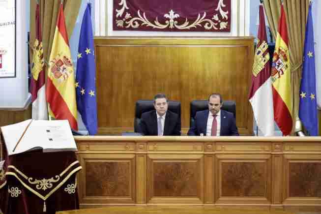 """García-Page destacó la calidad democrática de España y lamentó el """"mercado territorial"""" en que se convirtió el Congreso 1"""