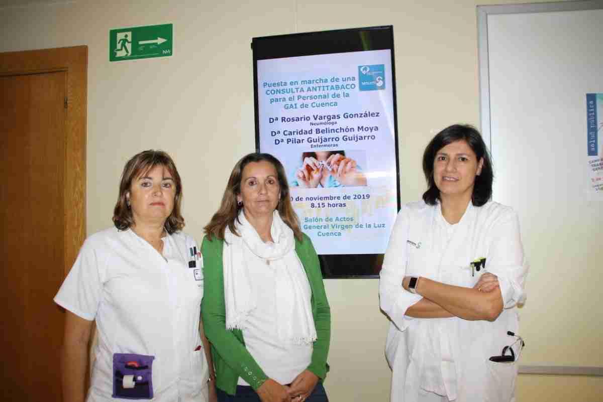 consulta de tabaquismo en el hospital de cuenca