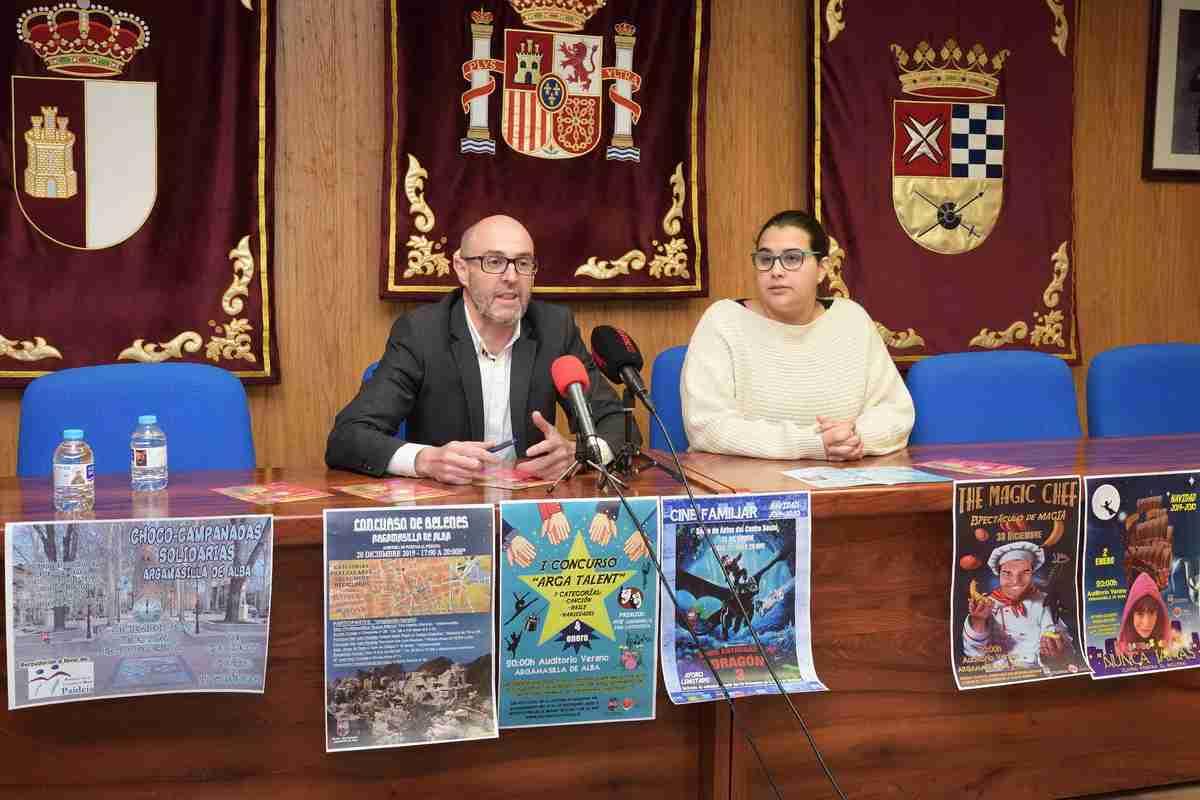El área de Festejos de Argamasilla de Alba presentó la programación para las fiestas navideñas 5