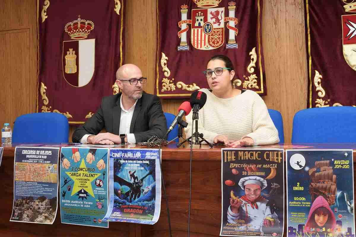 El área de Festejos de Argamasilla de Alba presentó la programación para las fiestas navideñas 6