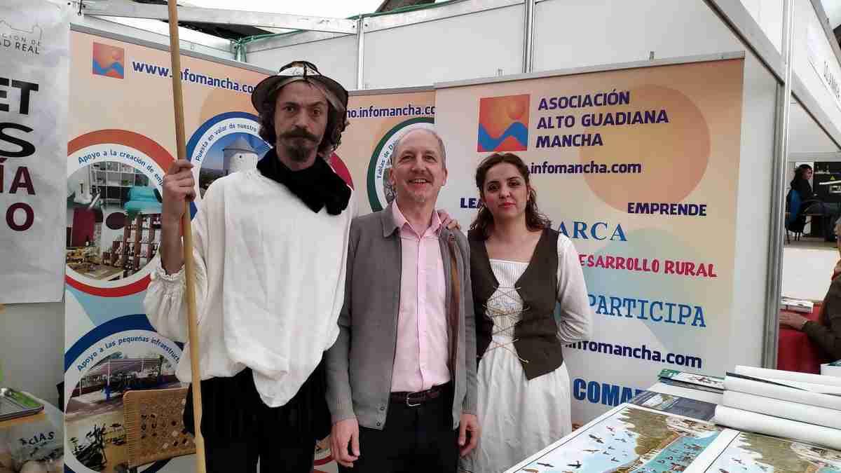 Alto Guadiana Mancha participó en La Solana de la feria Sabores del Quijote, centrada en el cordero, las gachas y el azafrán 2