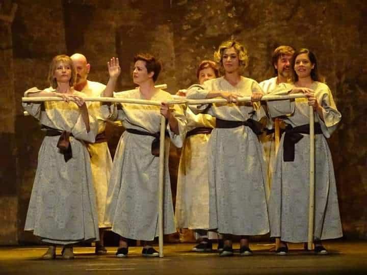 La Teatrería de Torralba de Calatrava recibió el segundo premio en la XXIX Muestra Provincial de Teatro 1