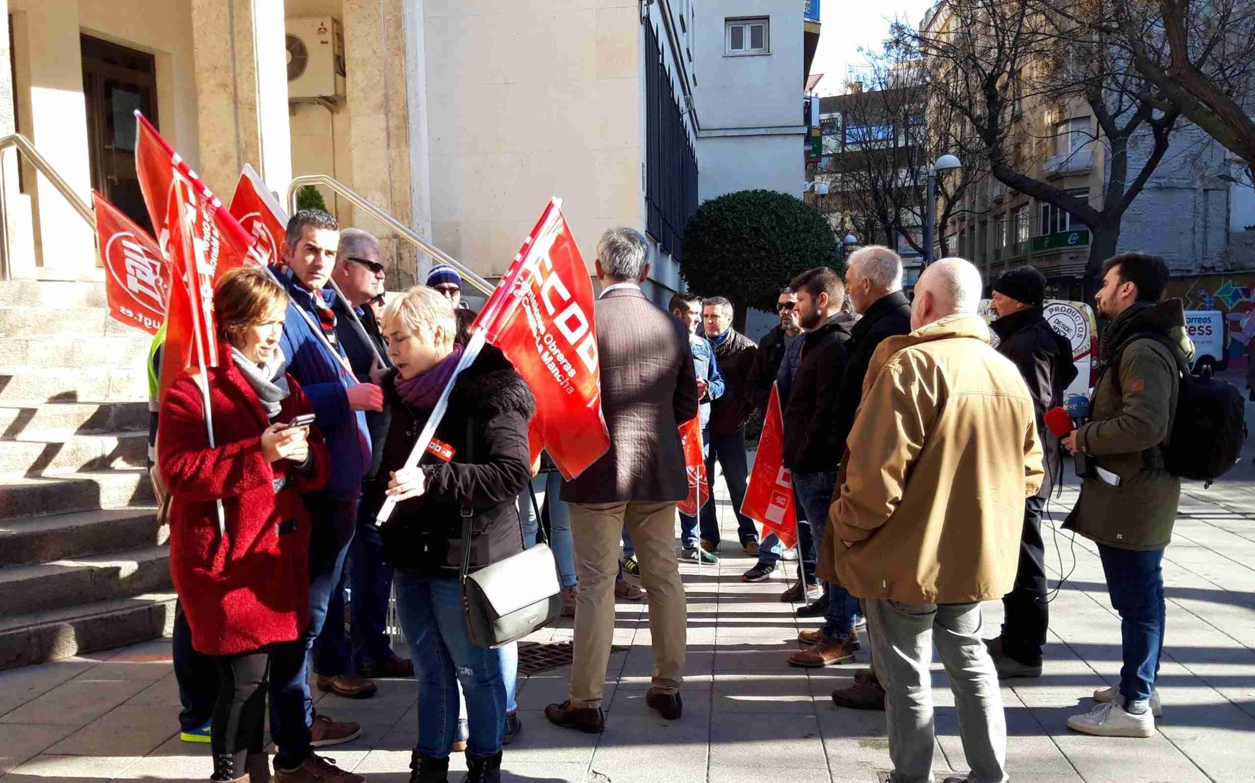 Los vigilantes de prisiones se movilizan para defender sus trabajos en Castilla-La Mancha 3