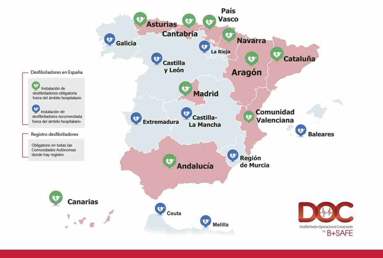 Máximos históricos de desfibriladores por habitante estas Navidades en Castilla-La Mancha 1