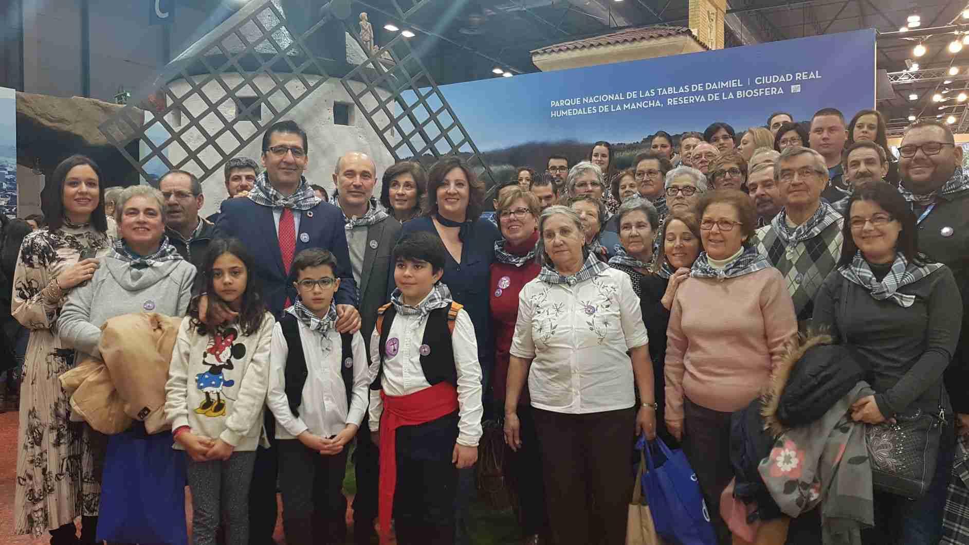 La música de los mayeros de Piedrabuena alegra el sábado de FITUR, Fiesta que aspira a ser declarada de Interés Turístico Nacional 9