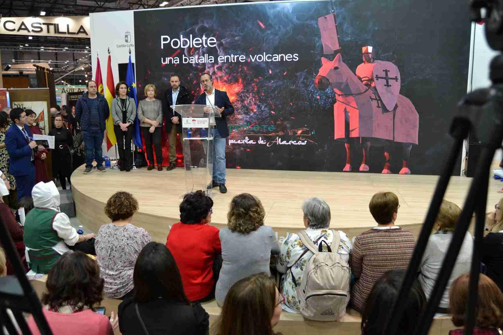 """Poblete participa en FITUR con """"Una batalla entre volcanes"""" 10"""