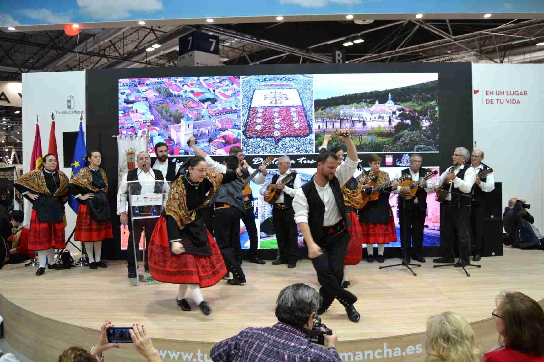 El Fandango se hace internacional en FITUR 2020 de Madrid para promocionar los recursos turísticos de Villarrubia de los Ojos 13