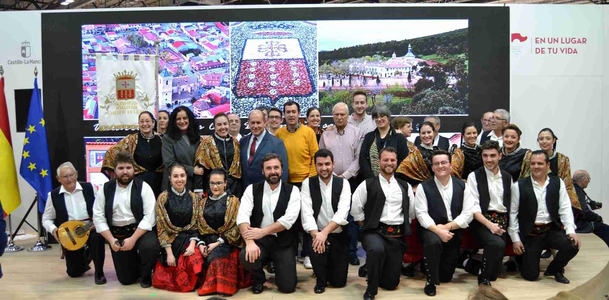 El Fandango se hace internacional en FITUR 2020 de Madrid para promocionar los recursos turísticos de Villarrubia de los Ojos 14