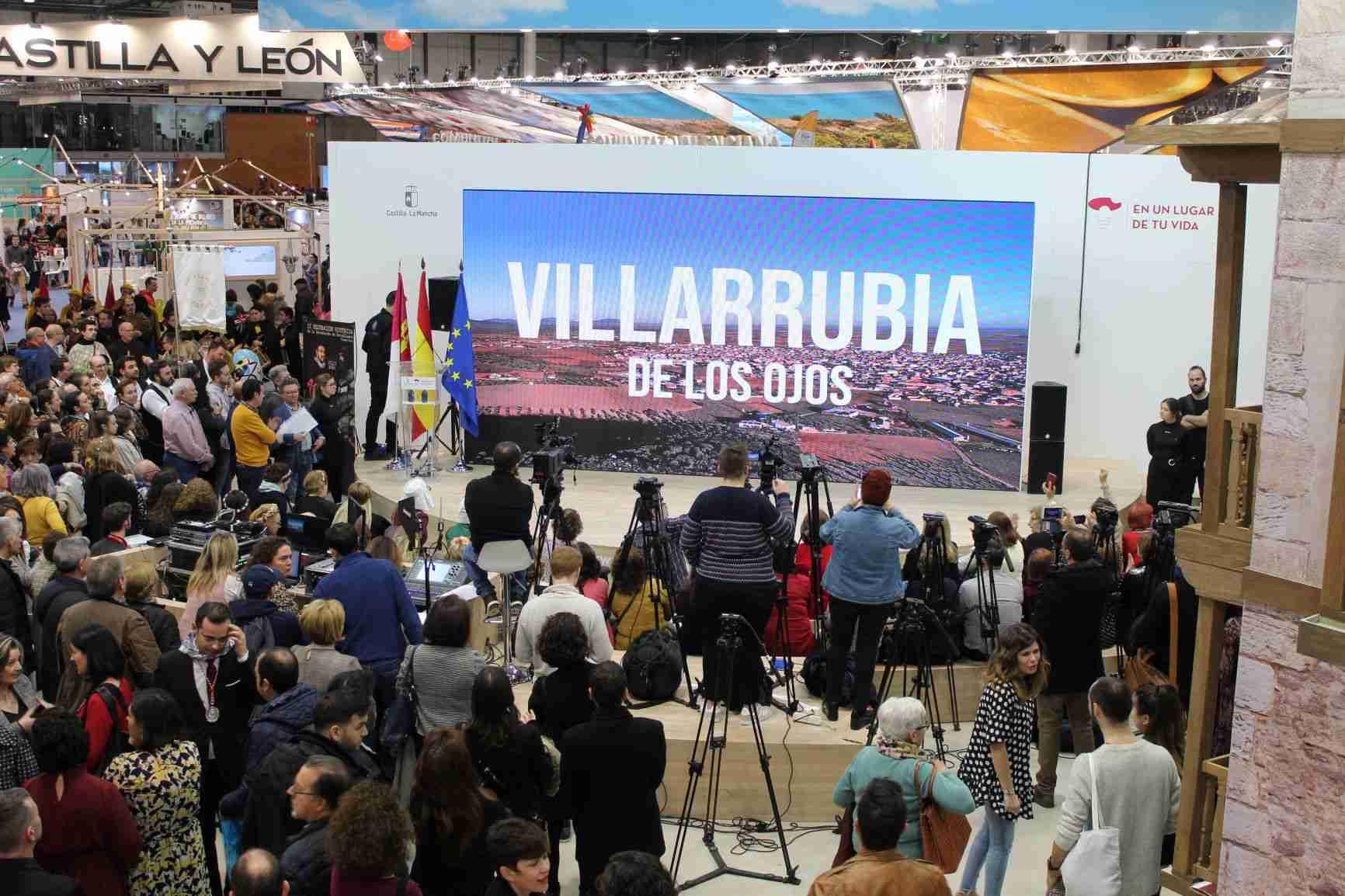 El Fandango se hace internacional en FITUR 2020 de Madrid para promocionar los recursos turísticos de Villarrubia de los Ojos 18