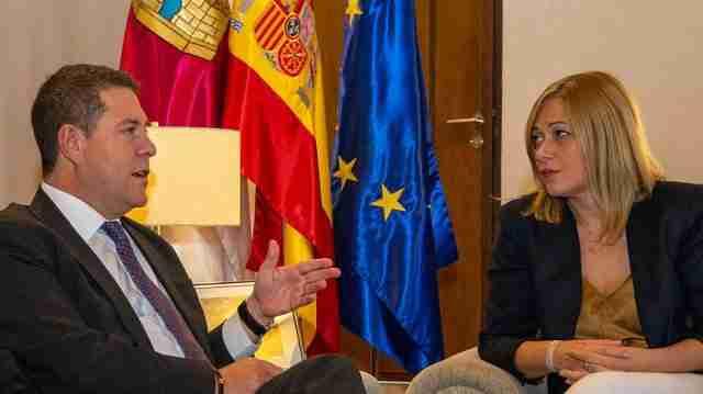El presidente regional y un encuentro institucional con la nueva portavoz de Ciudadanos en Castilla-La Mancha 1