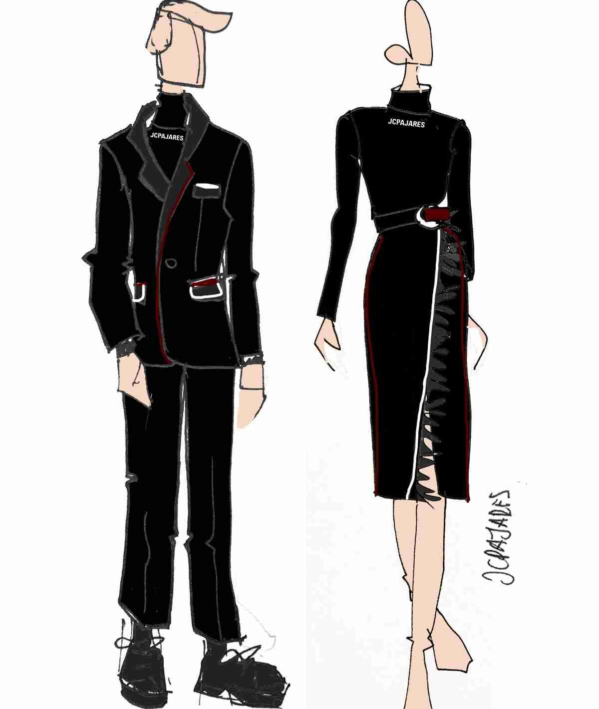 uniformes de clm para fitur 2020 diseñados por juan carlos pajares