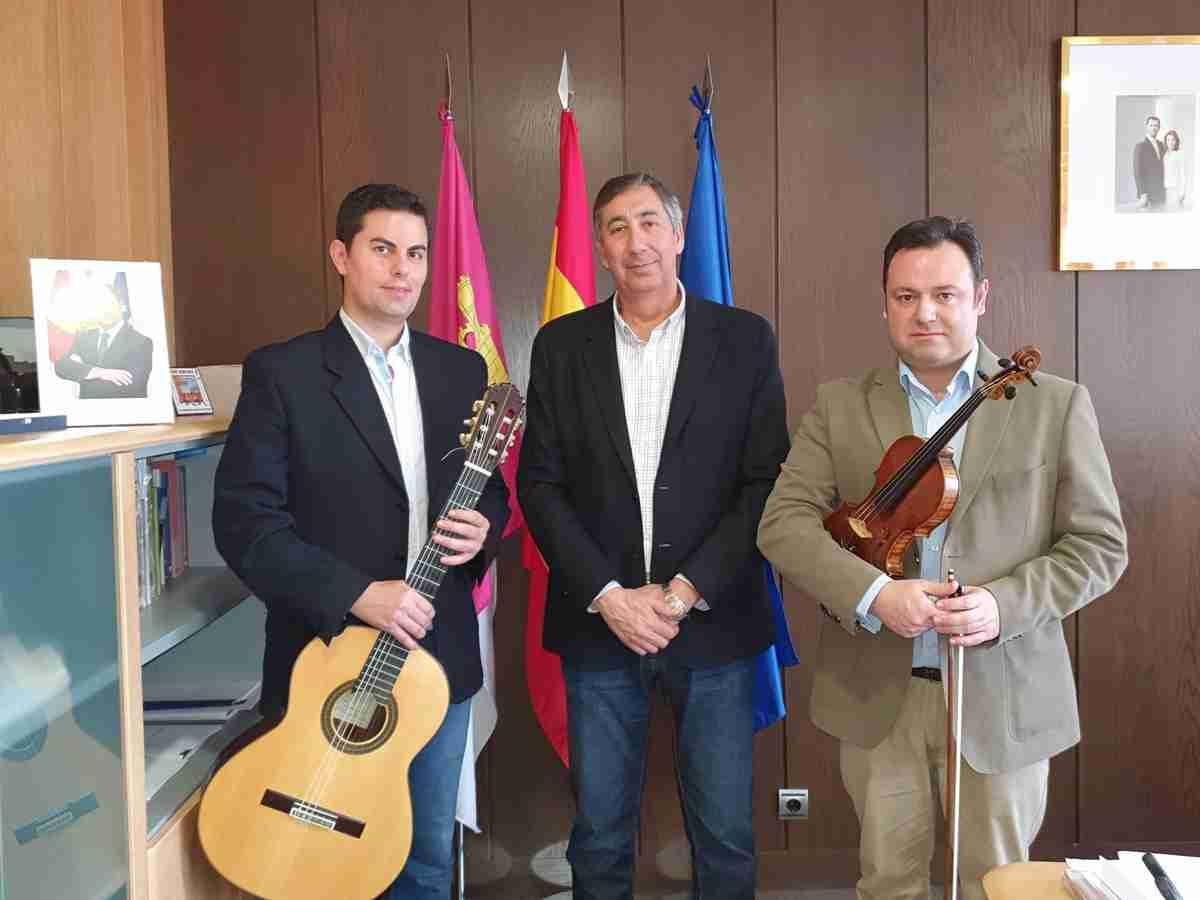 El Gobierno regional agradeció al Dúo Belcorde por recordar sus orígenes castellano-manchegos en sus presentaciones por todo el mundo 1