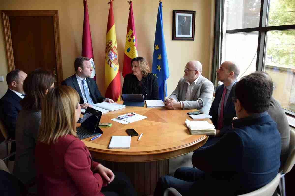 El Gobierno regional y el Ayuntamiento sumarán esfuerzos para promoción empresarial y generación de oportunidades de empleo en Albacete 1